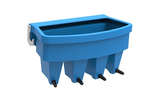 JFC Compartment Feeder - 4 Teat