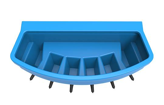 JFC Compartment Feeder - 6 Teat