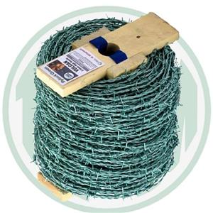 Tinsely Mild Steel Green Barb 200m