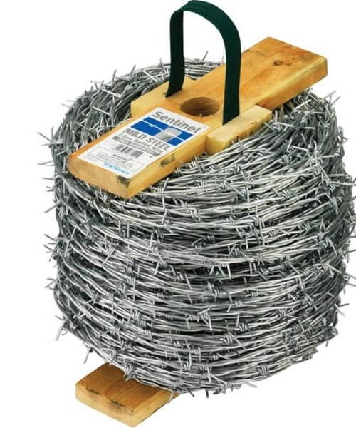 Sentinel Barbed Galvanised 200m