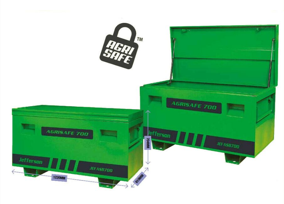 Jefferson - Agrisafe Truck Box (700mm High)