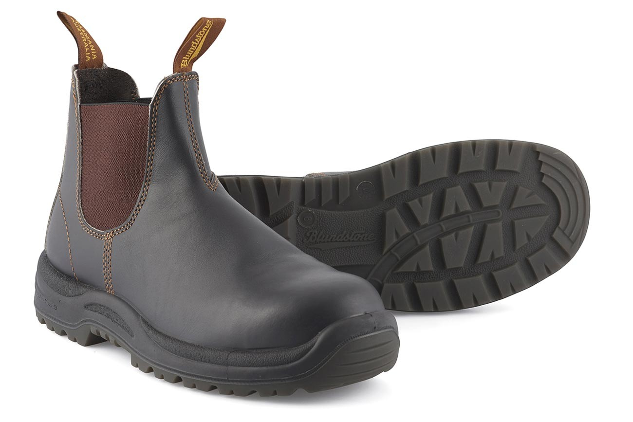 Blundstone Stout Brown Safety - 192