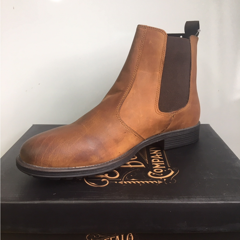Buffalo Chelsea Dealer Boot ( Oil Tan )