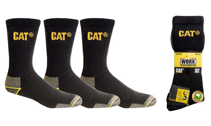 CAT Work Socks 3pk