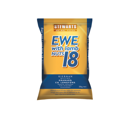 Ewe and Lamb Nuts 18%