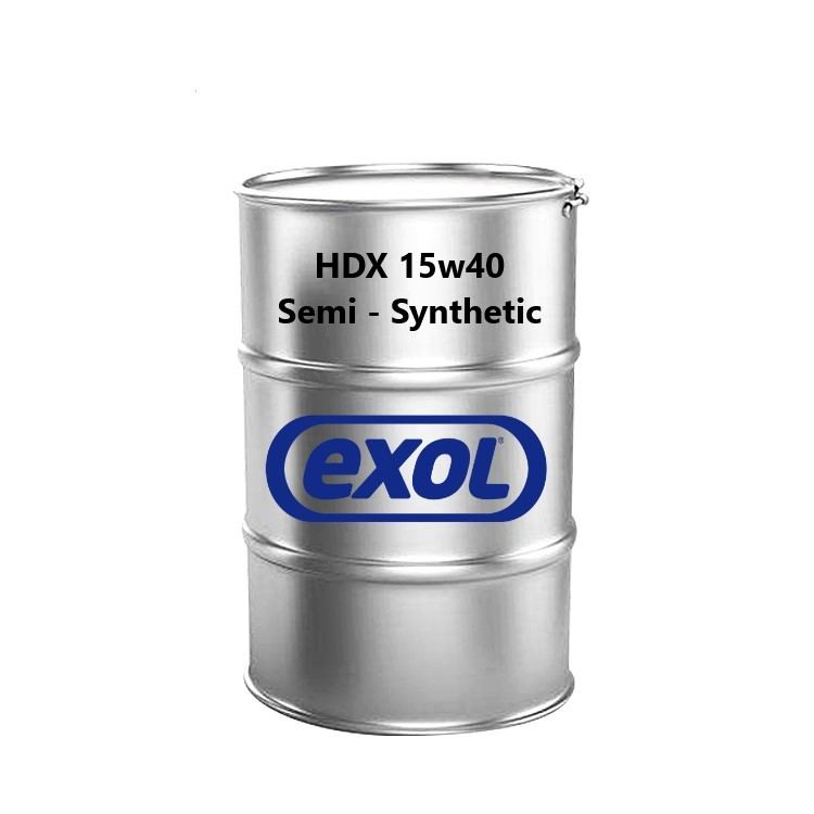 Exol HDX 15W/40 Semi Synthetic Barrel - 200 Ltr Barrel
