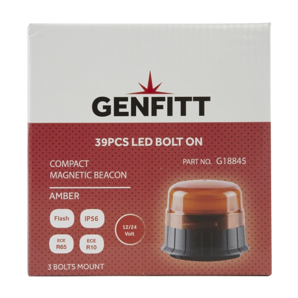 Genfitt - LED Magnetic/Bolt Beacon Compact ECE R65 R10