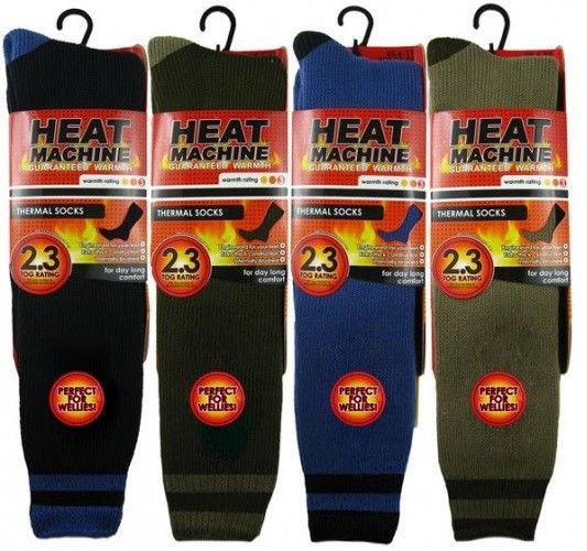 Heat Machine Thermal - Long Socks