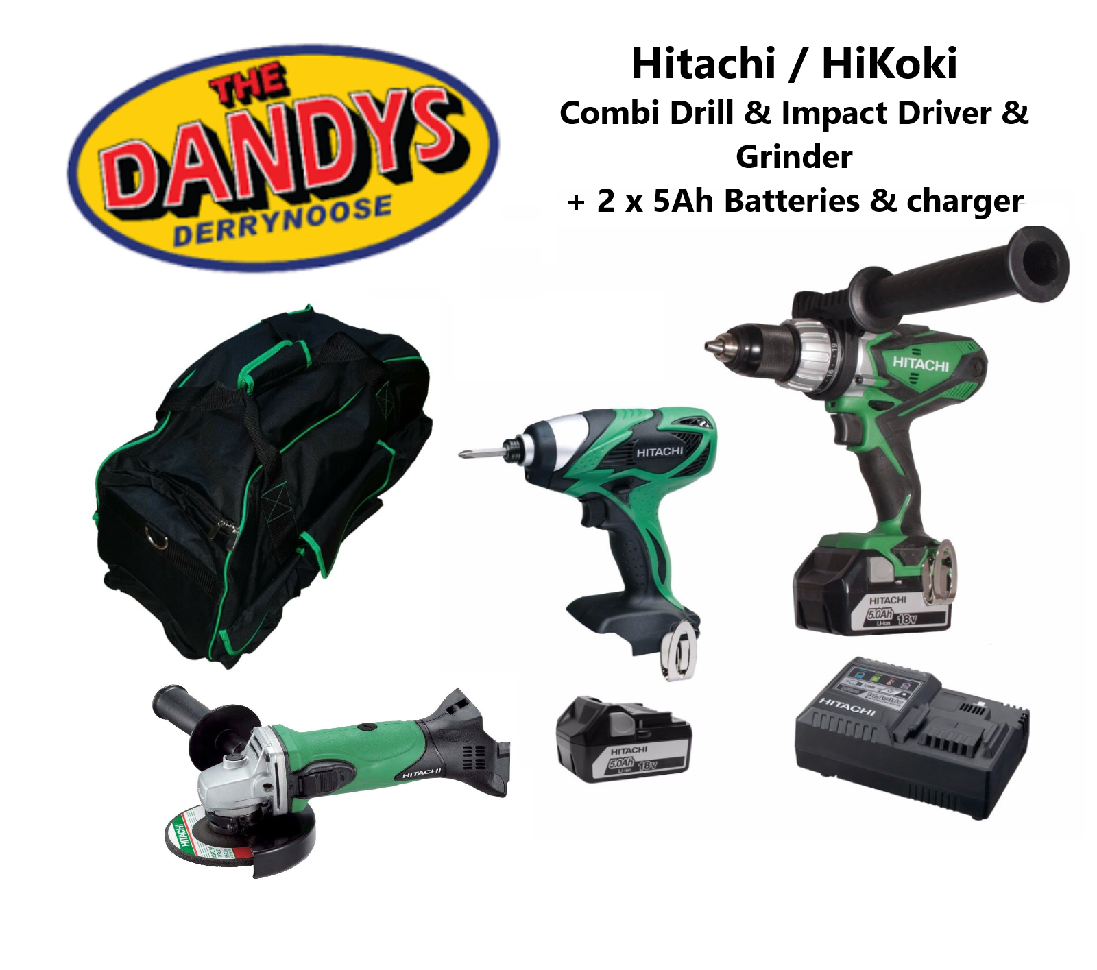HiKoki / Hitachi - 3 Piece Tool Bag