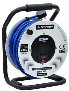 Jefferson Industrial Cable Reels 40m - 230V