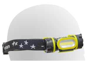 Jefferson - 160 Lumens Rechargeable Headlamp