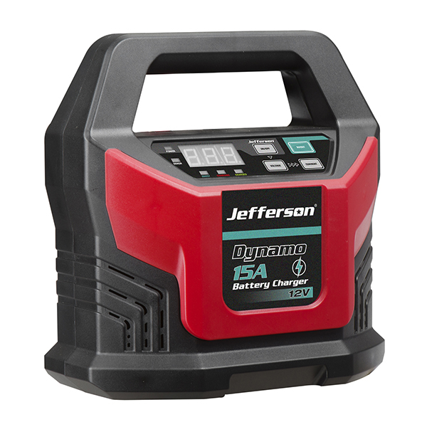 Jefferson - 15A Battery Charger 12Volt (JEFBATCHG15-12)