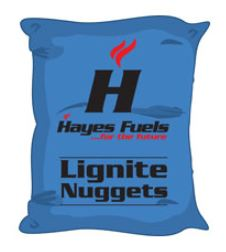Lignite Nuggets 1 Tonne - Smokeless