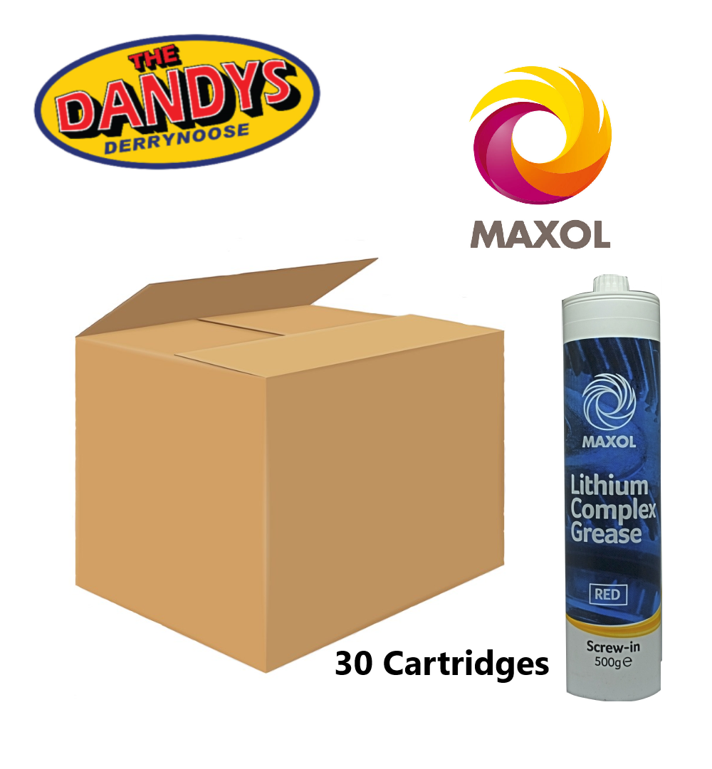 Maxol Lithium Complex Grease Screw In 500g - Full Box 30 | Buy