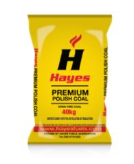Hayes Premium Black Diamond Polish Coal 40kg