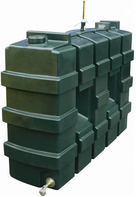 Titan Rectangular Oil Tank - 1000L