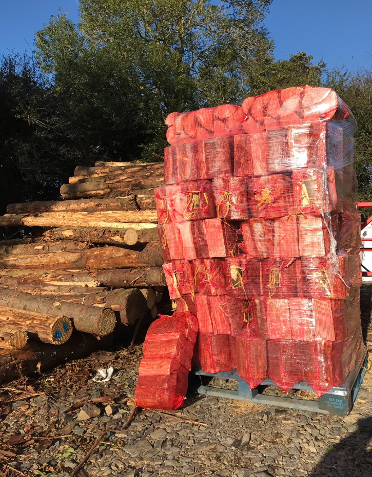 Premium Softwood Firewood - Full Pallet
