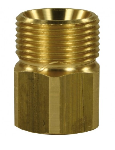 Suttner - Female to Male Brass Quick Screw Nipple Adaptor-M22 M to 3/8