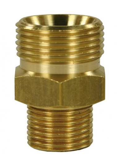 Suttner - Male to Male Brass Quick Screw Nipple Adaptor-M22 to 3/8